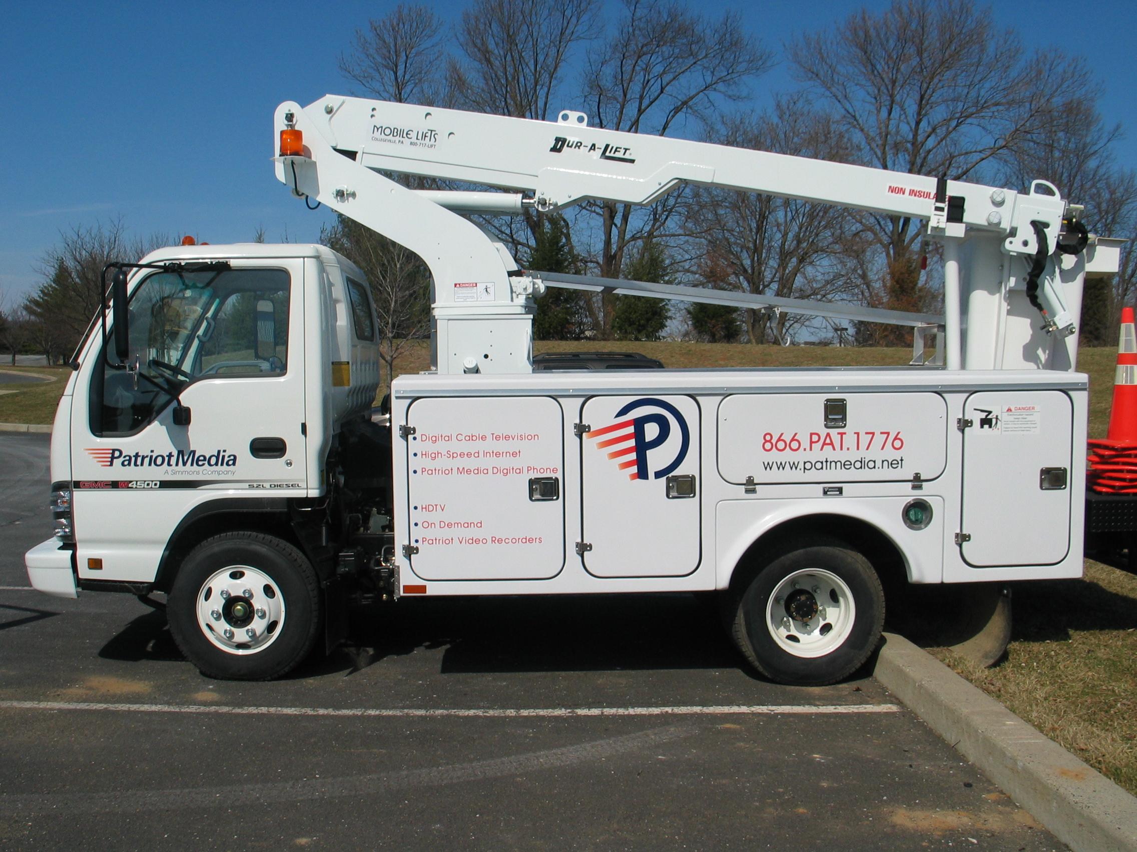 Patriot Utility truck